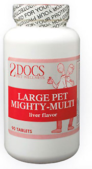 2docs large pet mighty multi multivitamin