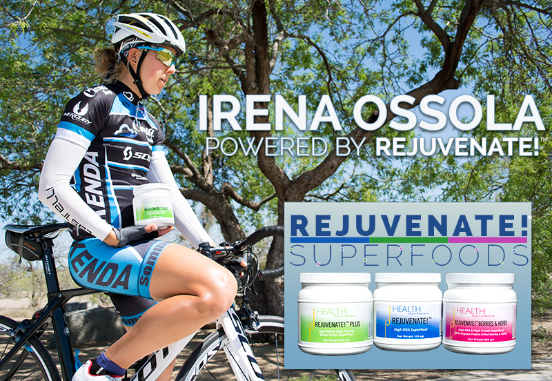 rejuvenate! superfoods irena ossola cyclist RNA