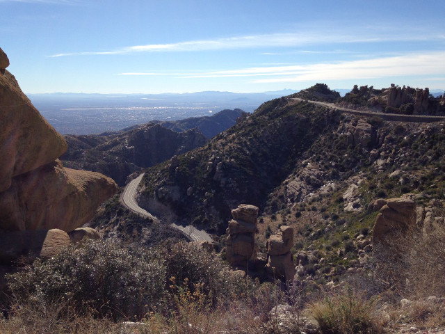 Hoodoo Vista Mt Lemmon Tucson Arizona bike training