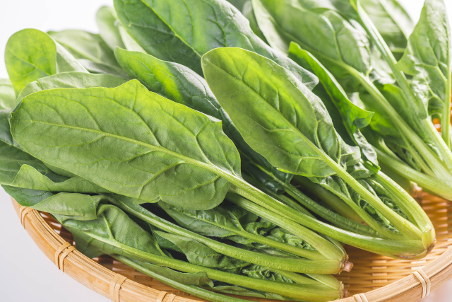 spinach folate
