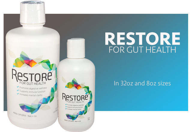 Restore Ion gut health liquid supplement